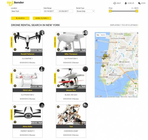 Up Sonder: Hire Professional FAA Certified Drone Pilots